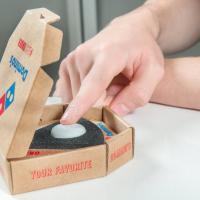Usa, un pulsante per ordinare la pizza da casa