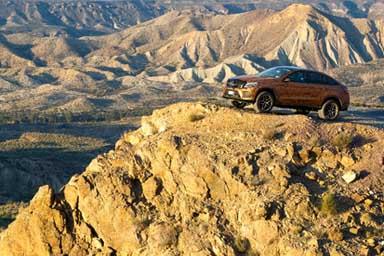 Merceds-Benz a tutto Sport Utility Vehicle