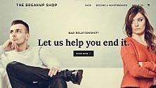 Breakup Shop ti aiuta a chiudere la relazione che non va più /   Foto