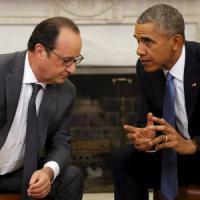 "Terrorismo, Hollande-Obama alla Casa Bianca: ""Distruggere l'Is insieme"""
