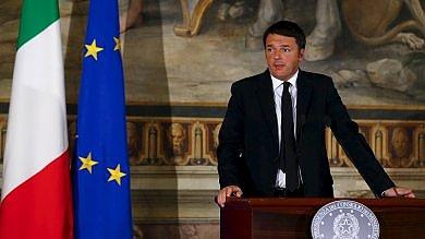 """Renzi: """"Un miliardo di euro per la sicurezza e un miliardo per la cultura""""   video"""