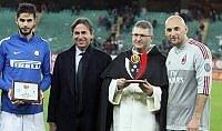 Trofeo San Nicola, il Milan  vince il derby con l' Inter