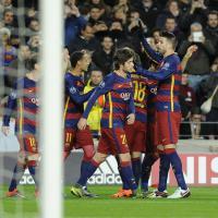 La goleada del Barcellona con la Roma