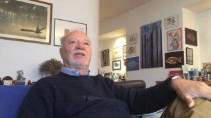 L'auto-rottamato si dà alla pittura La seconda vita di Carlo Rognoni