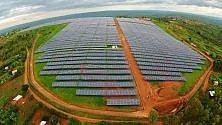 Un grande progetto di energia solare per illuminare il Ruanda
