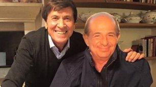 Morandi: ''Amici come sempre'' Il selfie 'contentino' per Magalli