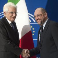 """Mattarella a Strasburgo: """"Ue è punto di riferimento, ma sia più unita contro terrorismo"""""""
