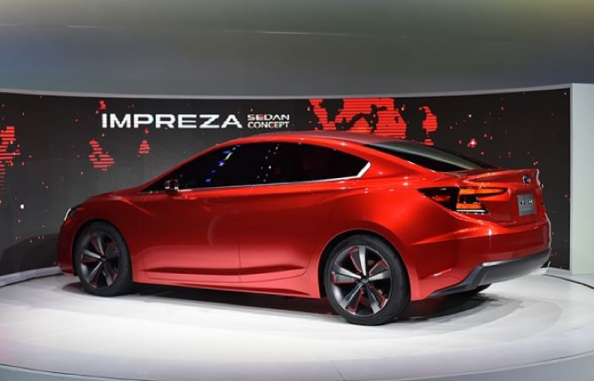 Concept Impreza Sedan, Subaru all'attacco