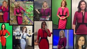 Il vestito della meteorologa in onda lo indossano in 50