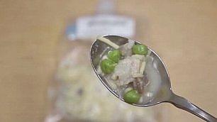 Il pasto degli astronauti  -    foto       il Ringraziamento liofilizzato