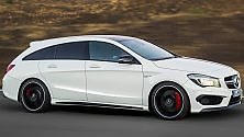 Mercedes CLA Shooting Brake, quante  sorprese
