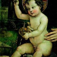 A Cortina il Bambin Gesù del Pinturicchio