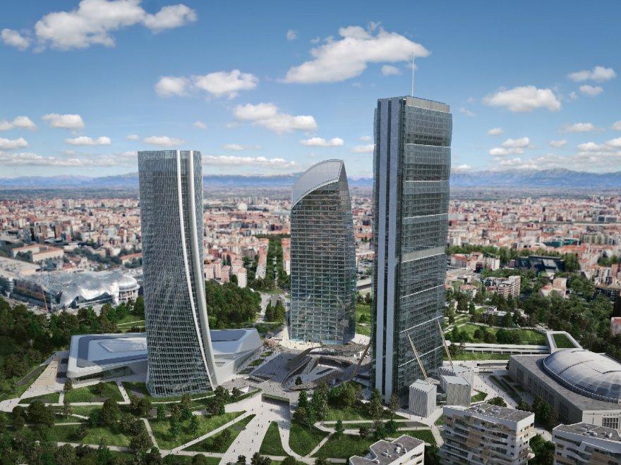 Terzo grattacielo CityLife, Milano completa il suo business district