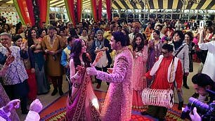 A Firenze nozze in stile Bollywood Tre giorni di festa: 20 mln di euro