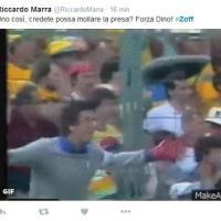 """""""Forza Dino, para anche questa"""": su Twitter l'affetto per Zoff ricoverato"""
