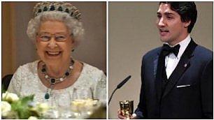 L'arte di sedurre la regina Trudeau lusinga Elisabetta II