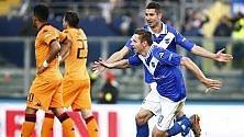 Il Cagliari crolla a Brescia Novara, colpo a Livorno  di JACOPO MANFREDI