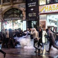 Turchia, omicidio Elci: scontri in piazza a Istanbul