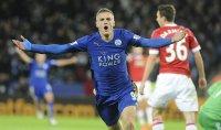 Vardy record, ma Leicester pari Anche il Manchester City in vetta
