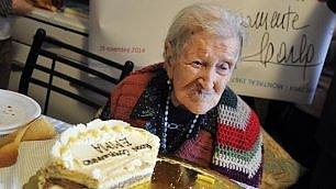 Emma, nonna d'Europa: 116 anni Gli auguri di Papa Francesco