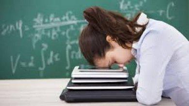 Stress da cattedra, allarme in Europa  ma la nostra scuola fa finta che non esista