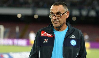 """Sarri: """"Loro efficaci, noi forti""""   Mancini : """"Non si decide nulla"""""""