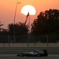 F1, Abu Dhabi, scatti d'autore