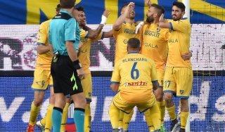 Frosinone-Verona 3-2: i ciociari sfruttano il fattore 'Matusa', l'orgoglio non basta all'Hellas