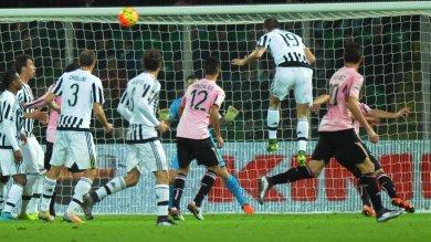 Una Juventus da piani alti Goleada  a Palermo Crollo Roma ko in casa   foto