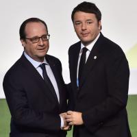 Cop21, Hollande riceve Renzi e gli altri leader