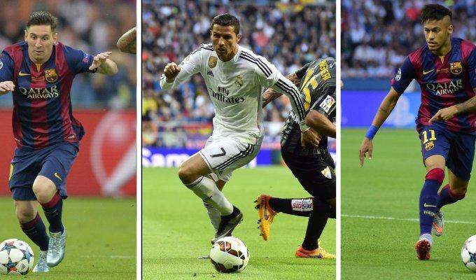 Ronaldo, Messi o Neymar Anche Florenzi in lizza   ft