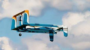 Amazon, il volo del nuovo drone Consegne dal cielo più vicine