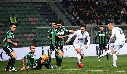 Fiorentina, altra frenata   foto   Col Sassuolo finisce pari