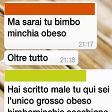 """Bullismo su WhatsApp il preside rende pubblica  la chat degli alunni """"Sei bimbominchia obeso"""""""