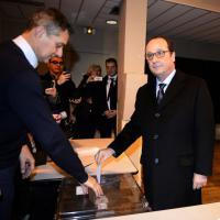 Francia al voto, da Hollande alle Le Pen: i leader ai seggi per le regionali