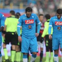 Napoli, black out di Reina e Higuain