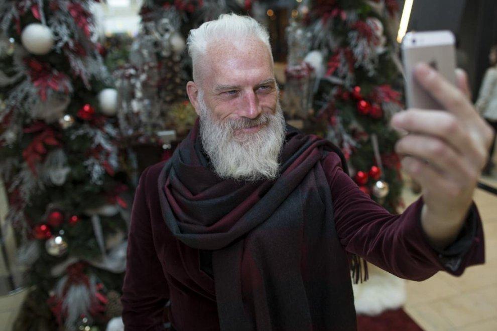 Fashion Santa, il Babbo Natale hipster che piace alle ...