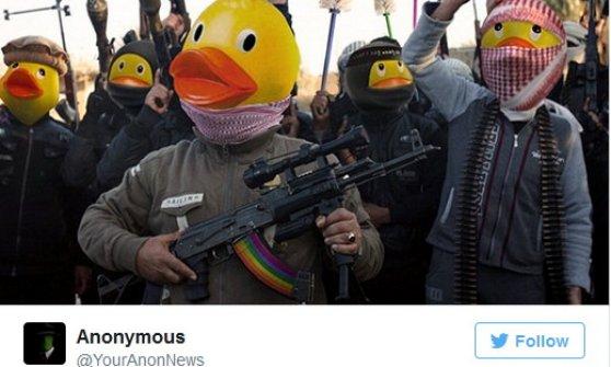 """""""Is trolling day"""" l'11 dicembre: così Anonymous vuol ridicolizzare i jihadisti"""