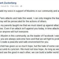Zuckerberg replica a Trump: