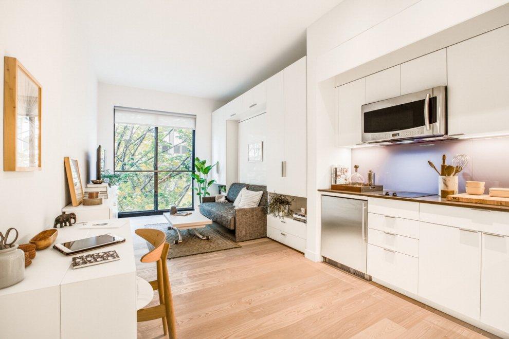 Vivere in 24 metri quadri carmel building primo palazzo for Appartamenti a new york economici