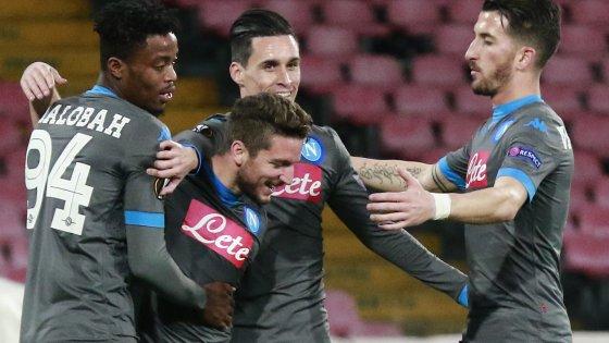 Napoli-Legia 5-2: un'altra cinquina al San Paolo, azzurri a punteggio pieno