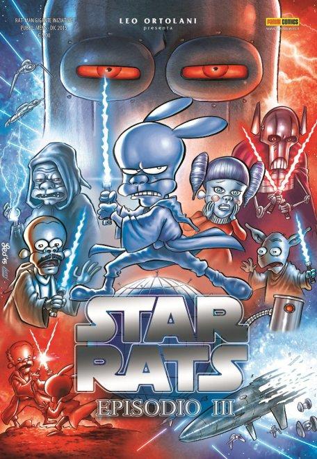Star Rats, Guerre Stellari è parodia nel fumetto firmato Leo Ortolani