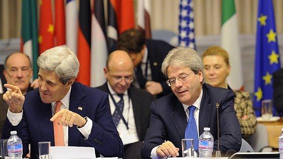 """Kerry a Roma: """"Libia, governo di unità nazionale a Tripoli entro 40 giorni"""""""