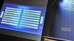 Champions: Roma-Real e Juve-Bayern. In E. League Villarreal-Napoli, Galatasaray-Lazio e Fiorentina-Tottenham