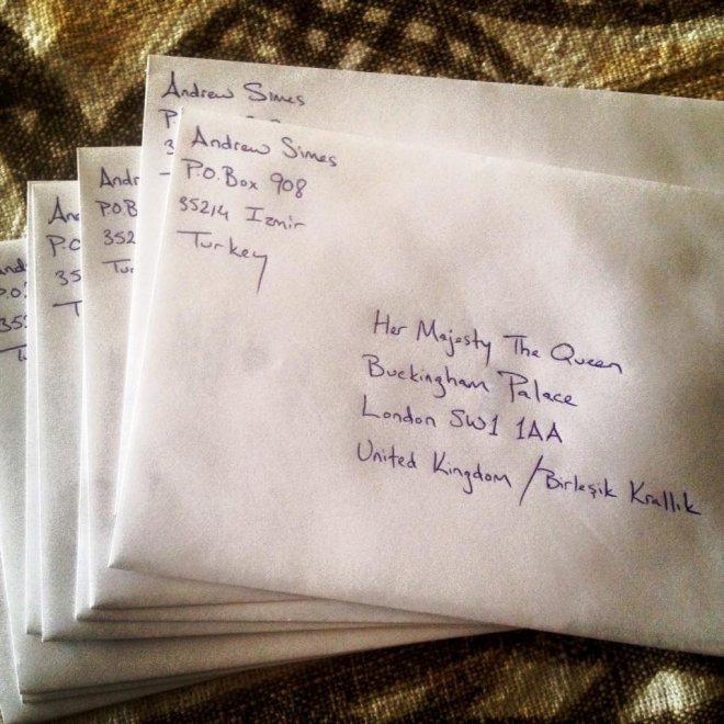 Uk Inviare Lettere