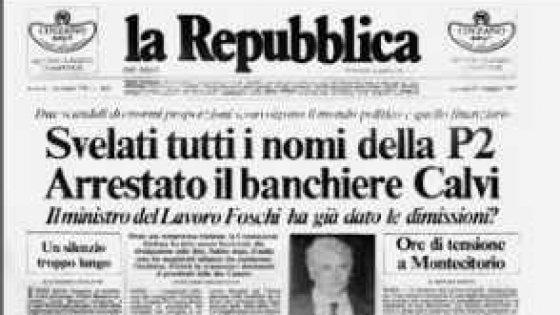 P2, da Silvio Berlusconi a Maurizio Costanzo, alcuni dei nomi più noti della lista Gelli
