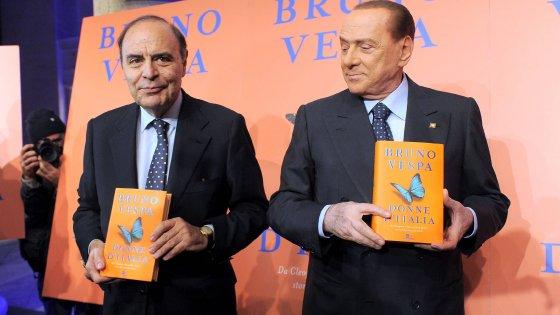 Berlusconi, idea Vespa per il sindaco di Roma