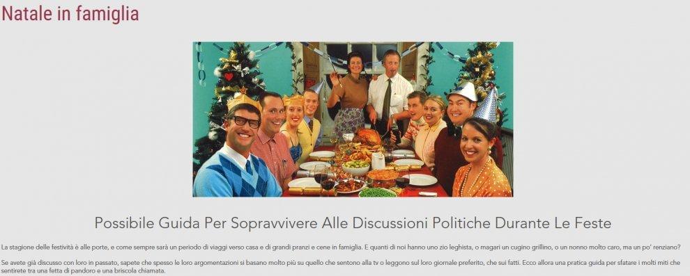 Natale in famiglia: Possibile guida per sopravvivere alle discussioni politiche durante le feste