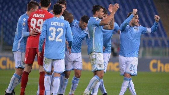 Lazio-Udinese 2-1: rimonta e biancocelesti ai quarti con la Juventus