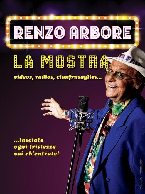 Cinquant'anni di carriera, in mostra le passioni di Renzo Arbore
